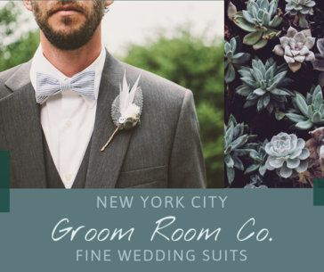 Wedding Facebook Post Maker for a Groom Suits Boutique 2007f