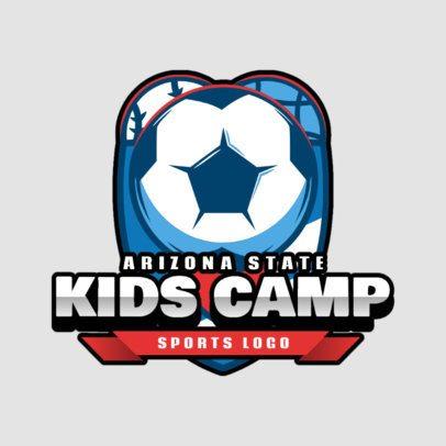 Logo Maker for a Kids Summer Camp 2753