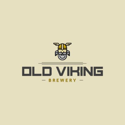Online Logo Maker for a Brewery Store 1654h 323-el