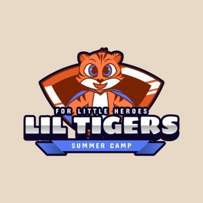 Friendly Logo Maker for a Kids Summer Camp 2753a