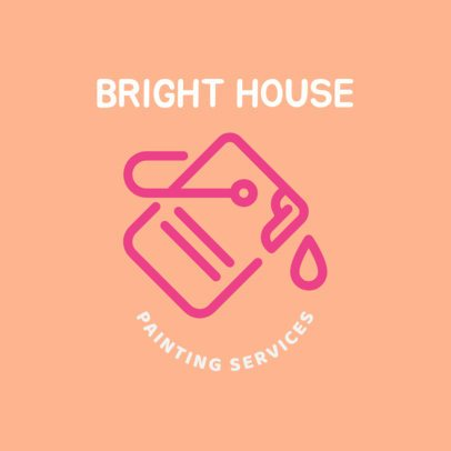Logo Design Template for Painting Services 1442f-240-el