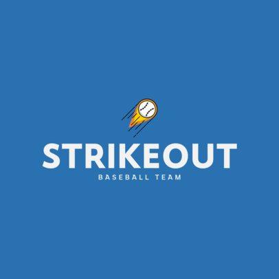 Baseball Team Logo Generator with a Minimalistic Style 335a-el1