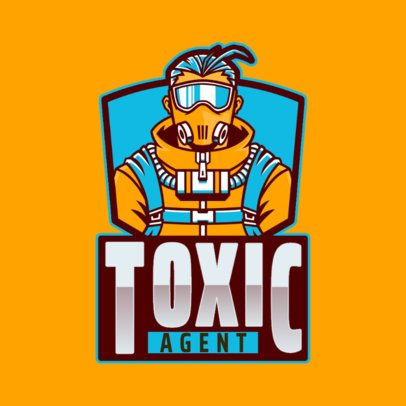 Gaming Logo Creator with a Masked Character in Reference to Apex Legends 2791q