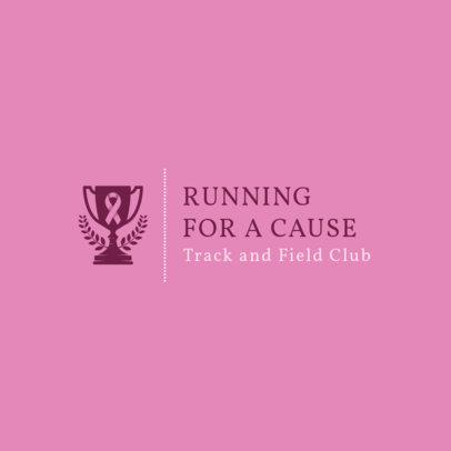 Running  Logo Maker for Awareness Events 1543e