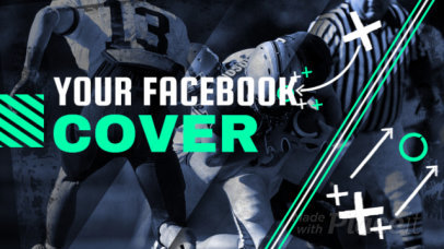 Facebook Cover Template for a Football Page 2048