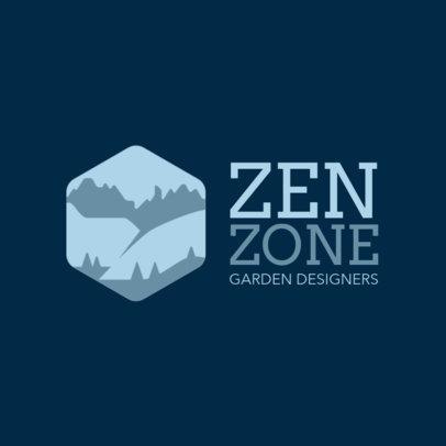 Logo Maker for a Garden Design Studio 1435n-2797