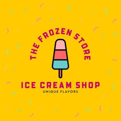 Cool Logo Generator for Ice Cream Shops 508-el1