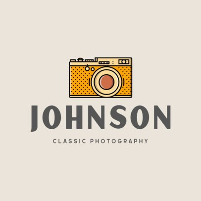Logo Template for a Classic Photography Studio 337b-el1