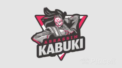 Animated Japanese Fighting Game Logo Maker 1747d