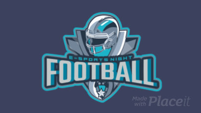 Animated eSports Logo Maker for a Football Video Game 1748a