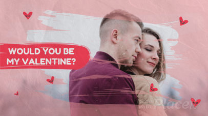 Valentine's Day-Themed Slideshow Maker with Cute Hearts and Transitions 2023