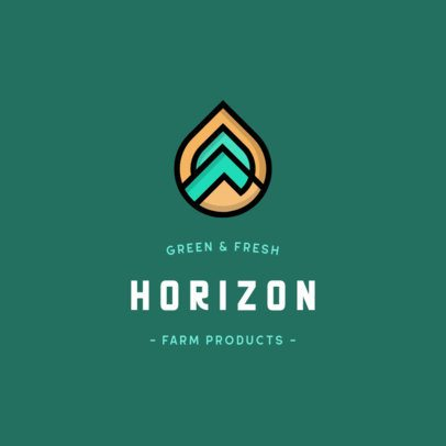 Online Logo Maker for a Farm Product-Based Brand 553c-el1