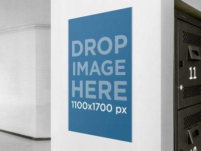 Tabloid Frame Office Hallway 1608
