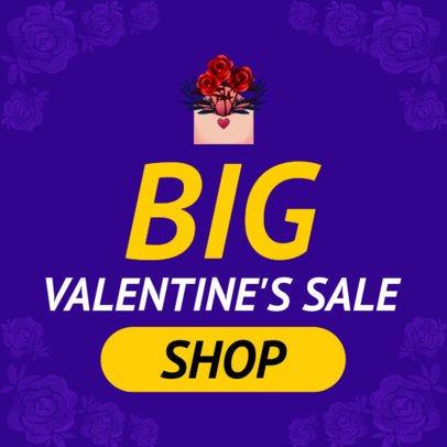 Valentine's Sale Banner Creator 1049j-2143