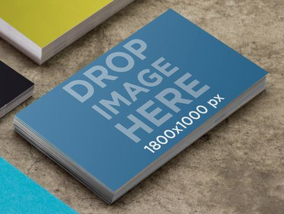 Business Card Concrete Table 1298