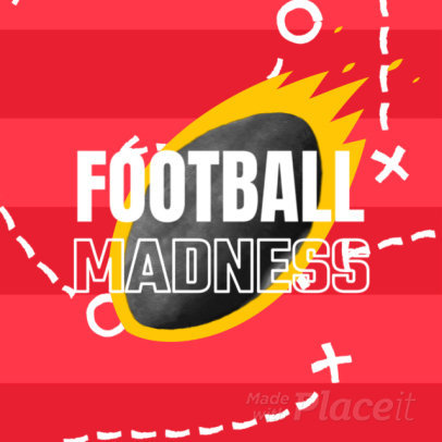 Football-Themed Instagram Video Maker for Special Offers 2020