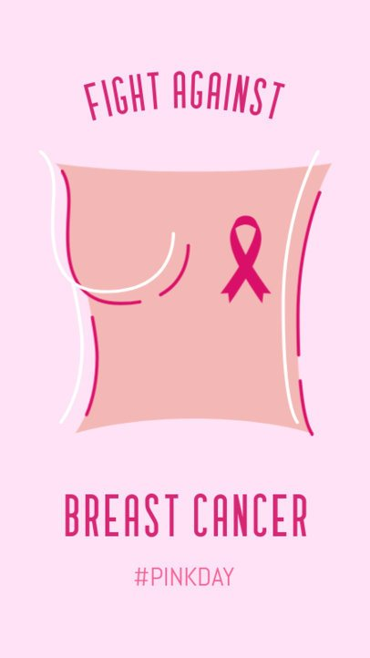 Breast Cancer Awareness Instagram Story Maker 2172a