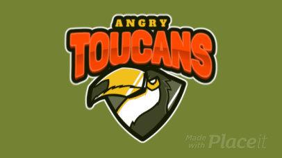 Aggressive Animated Logo Template for a Sports Team 120v-2887