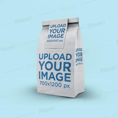 Paper Bag Mockup at a Minimalistic Setting 2581-el1