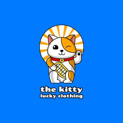 Streetwear Logo Maker Featuring Funny Illustrations of Pets 264-el1