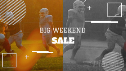 Facebook Cover Video Maker for Big Game Day Special Offers 1549c 2019