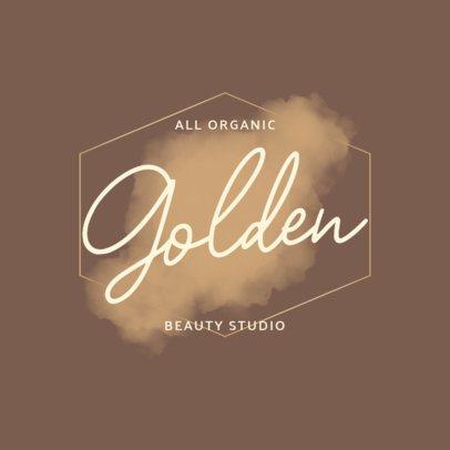 Elegant Logo Creator for Organic Cosmetics 2921e