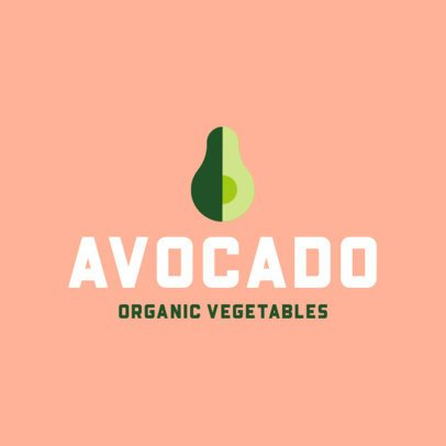 Organic Food Restaurant Logo Generator 818a-el1