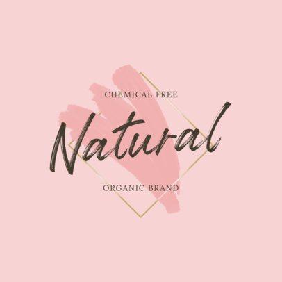 Beauty Logo Generator for an Organic Brand 2921i