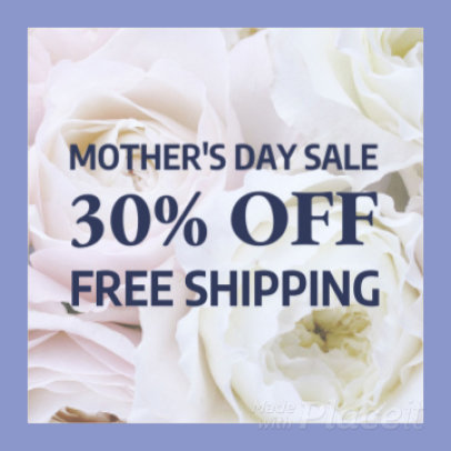 Beautiful Instagram Video Maker for a Mother's Day Promo 1539d-1752