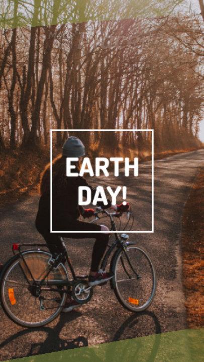 Instagram Story Video Maker for an Earth Day Offer 1271c 1837