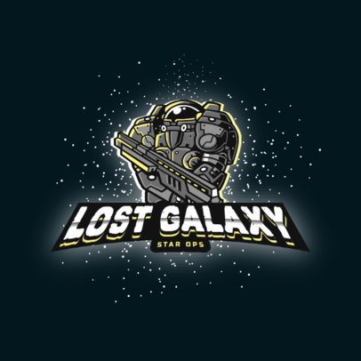 Logo Maker with a Character Inspired by the Space Marines from StarCraft 2959e
