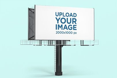 Billboard Mockup Featuring a Customizable Background 2861-el1