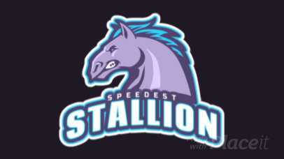 Animated Logo Generator Featuring an Angry Horse Illustration 1745q-2964