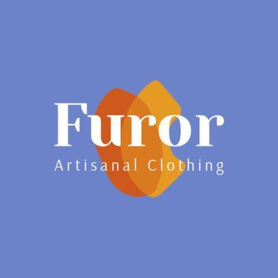 Artsy Logo Creator for Artisanal Clothing Store 2980e