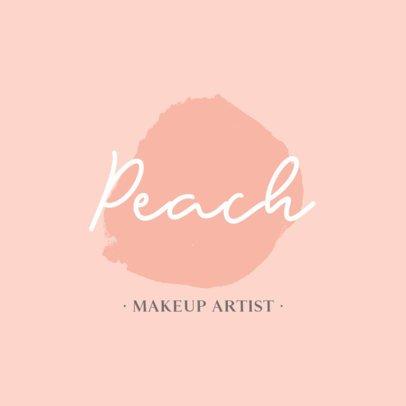 Minimalist Logo Template for Makeup Artists 887B-el1