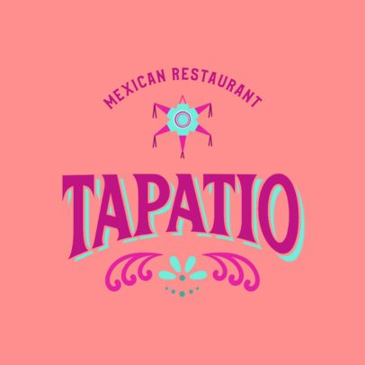Colorful Logo Generator for a Mexican Food Restaurant 2976d