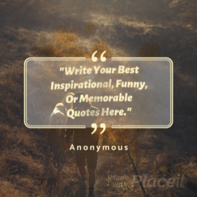 Quote Instagram Post Video Maker with Paint Stains Animations 454