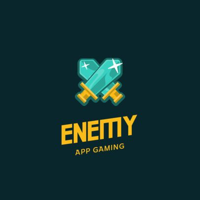 Logo Template for a Mobile Gaming Business 885a-el1