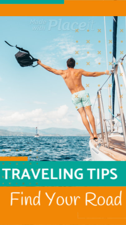 Instagram Story Video Maker Featuring Travel Tips 1370b 1813