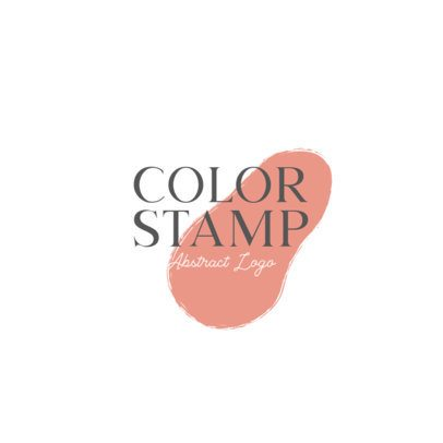 Abstract Logo Maker with a Color Stamp Graphic 933A-el1
