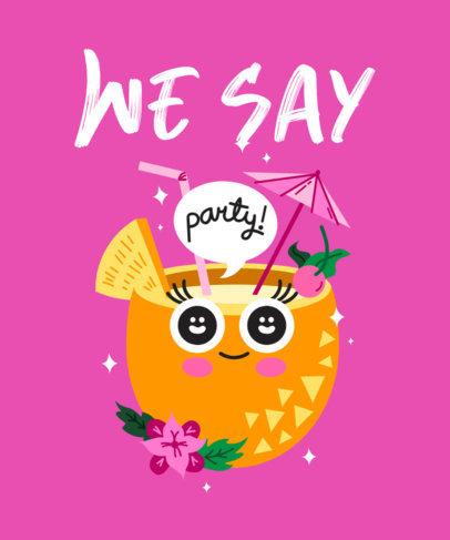 Fun Bachelorette Party T-Shirt Design Creator 2319g