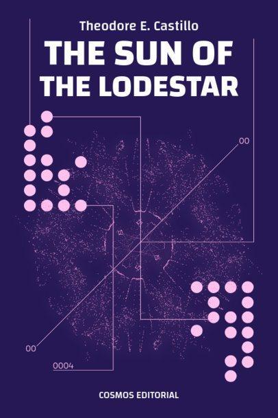 Book Cover Design Generator Featuring Abstract Sci-Fi Art 513c-el1