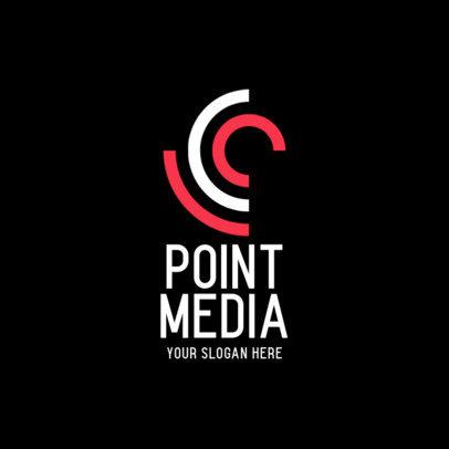 Abstract Logo Creator for a Media Company 456a-el1