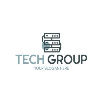 Logo Maker for a Technology Group 594b-el1