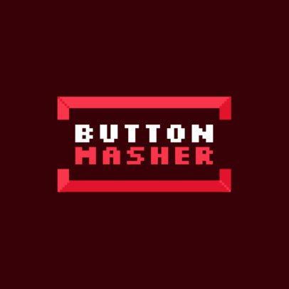 Fun Gaming Logo Creator with an 8-Bit Typography 3062e
