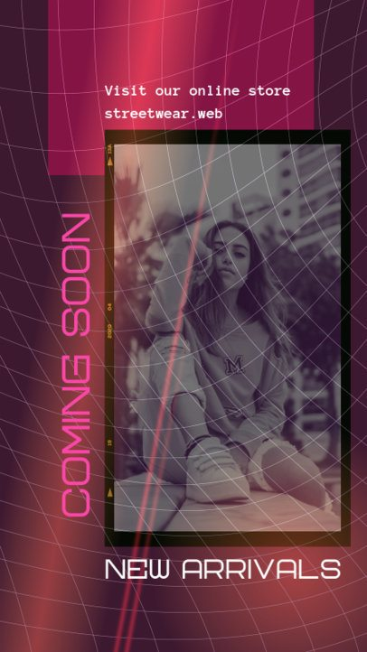 Instagram Story Generator with a Glowing Background 2440c