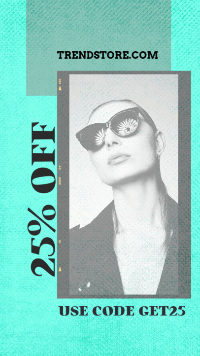 Trendy Instagram Story Template for a Clothing Store Sale Announcement 2440h