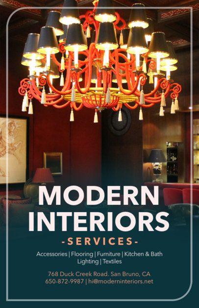 Online Flyer Maker for Interior Design Companies 317c