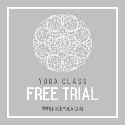 Instagram Post Maker to Announce a Free Yoga Class 744b-el1
