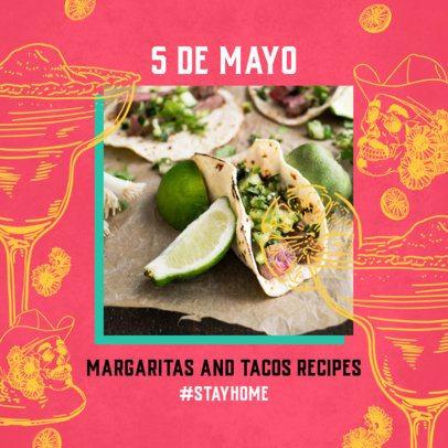 5 de Mayo-Themed Instagram Post Template 2437d